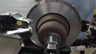 Audi Q7 Ремонт тормозной системы Устраняем биение тормозных дисков