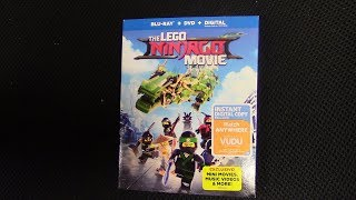 The Lego Ninjago Movie Blu-ray Unboxing