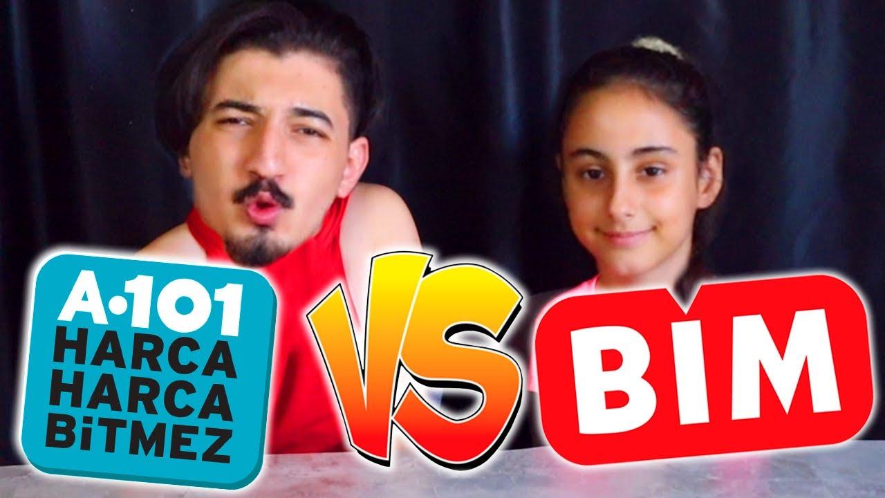 EBRARLA BİM VS A101 ABUR CUBURLARI YAPTIK!