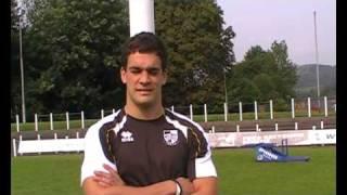 Pontypridd RFC: Owen Williams (04/09/10)