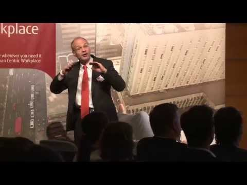 Fujitsu Forum 2015 Breakout Session - Improving Society through Technology - the Japanese Way