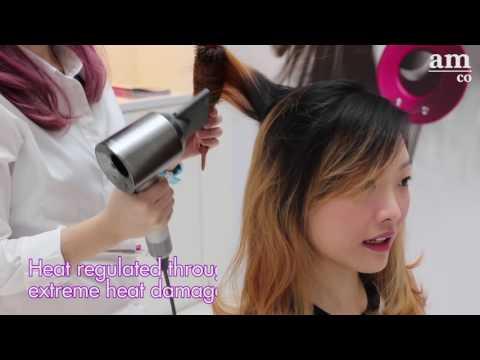 Dyson Supersonic Hair Dryer Blowout Pop-up Salon in Singapore
