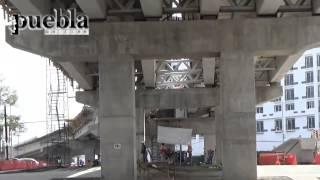 65 de avance en viaducto elevado 31 poniente y blvr atlixco
