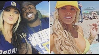 BLK NFL PLAYER WHT FIANCE SAYS CHEERS TO MORE L!GHTSK!NNED KIDS!