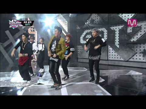 GOT7_Intro+따라와 (Intro+follow Me by GOT7 of M COUNTDOWN 2014.1.16)