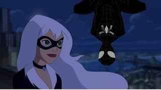 """Человек-паук и Чёрная кошка """"Мы с  тобой мечтатели"""" КЛИП"""