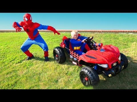 Thumbnail: Spider-man VS Superman