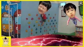 Indoor Playground Fun for Kids Finger Family Song Play Slide Climb Colors Ball | MariAndKids Toys