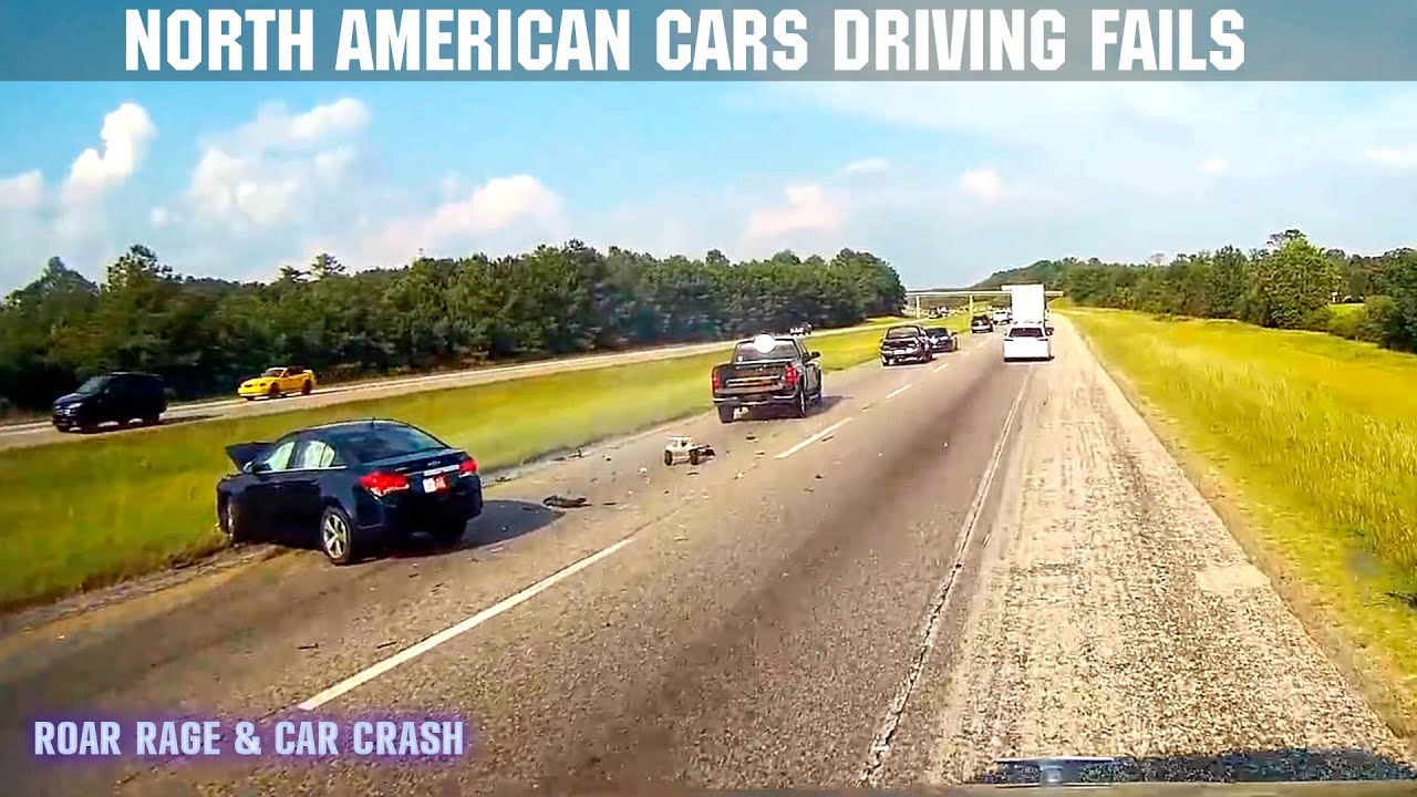 Download Car Crashes in America   Bad Drivers, Hit and Run, Brake check, Instant Karma   2021 # Re-Upload