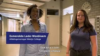 Welkom bij het Welzijn College Utrecht