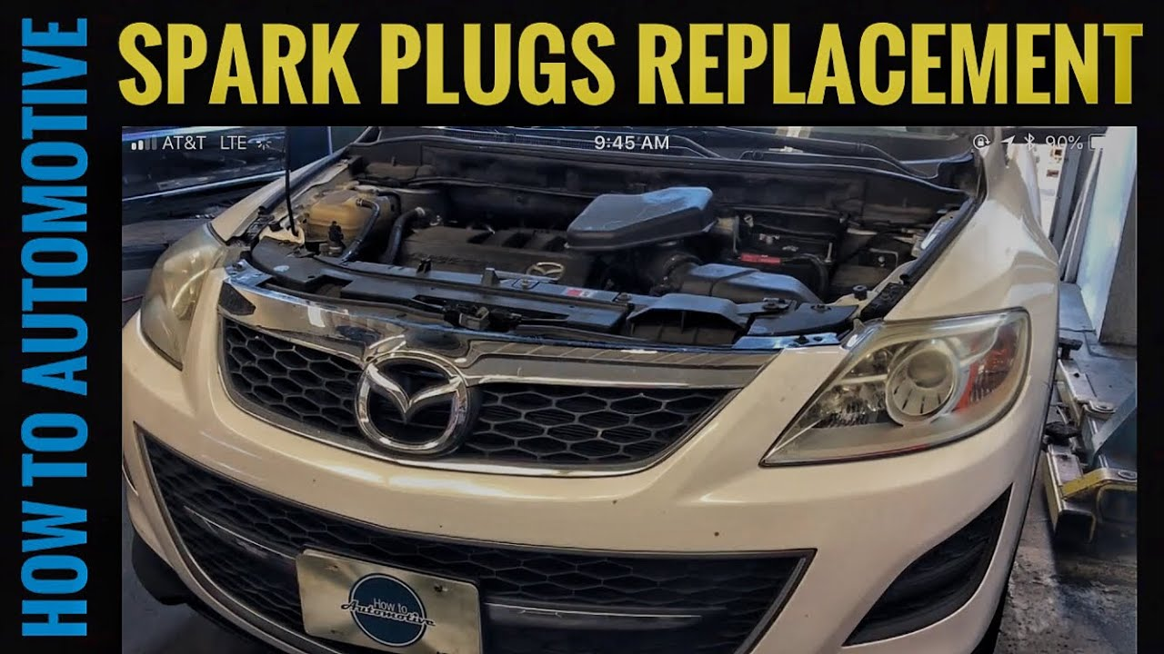 hight resolution of how to replace the spark plugs on a 2006 2015 mazda cx 9 with 3 7l 2006 mazda 6 fuel filter