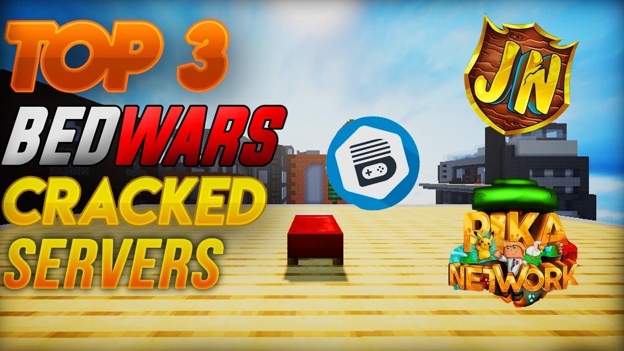 TOP 3 BEDWARS CRACKED SERVERS (2019) Minecraft Bedwars YouTube