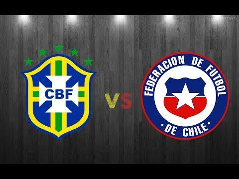 Brasil vs Chile 3-0 (Reacción Mejores Jugadas) Clasificatorias Rusia 2018