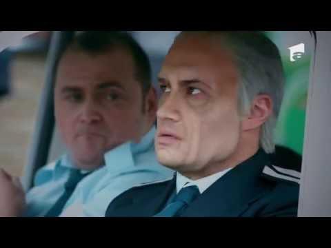 În prima sa misiune, poliţistul Vişinescu aplică legea într-un supermarket