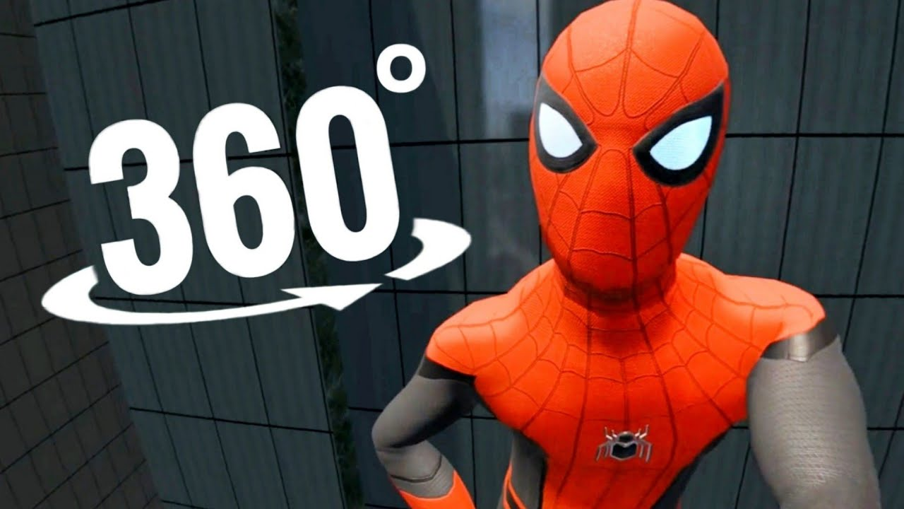🕷️ 360 video SPIDERMAN VR Virtual Reality Experience Immersive Marvel