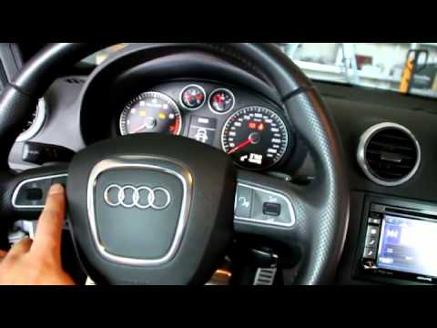 Audi A3 (BJ: 2010) - Umrüstung auf Alpine INA-W920R mit MFA-Anbindung