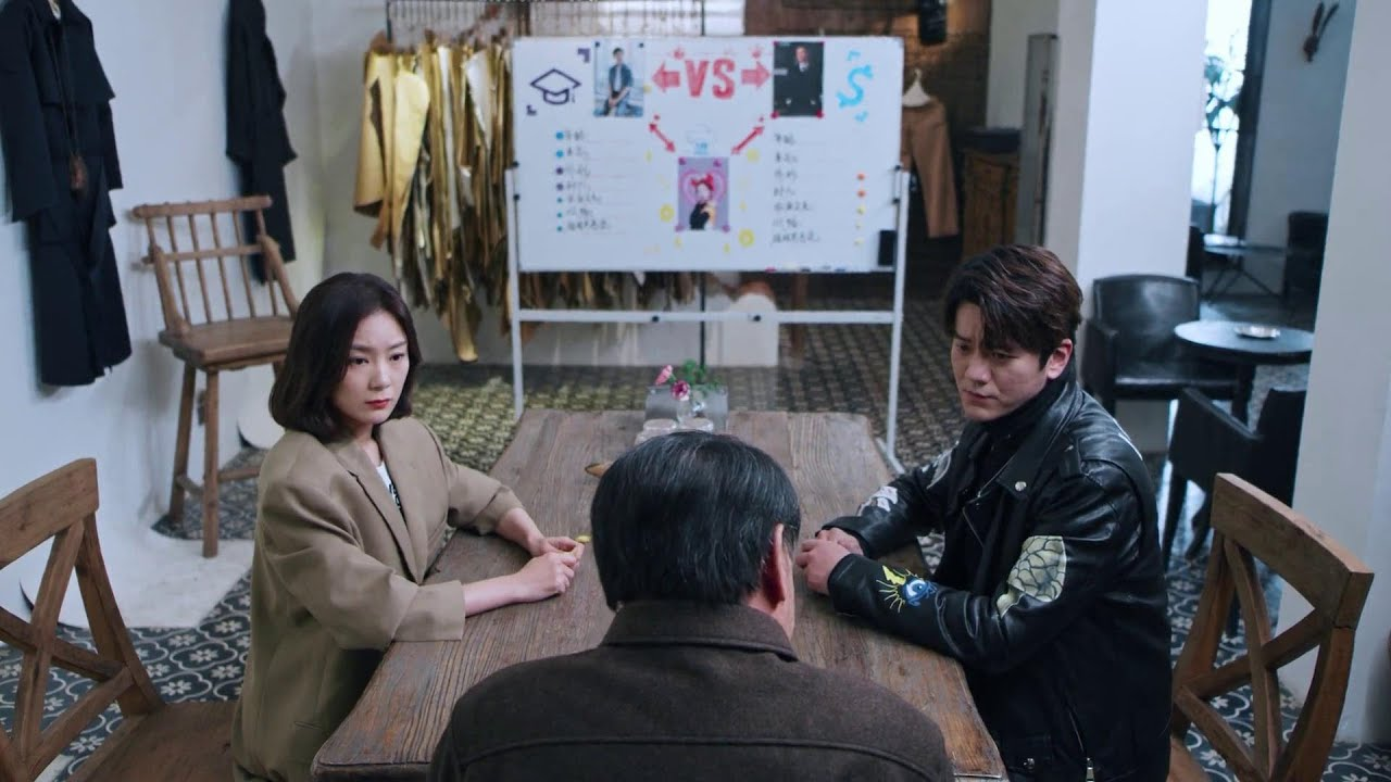 Dating In The Kitchen 我, 喜欢你 EP17 | Grandpa Invites Zhaodi & Uncle To Compare CEO Lu and The Man
