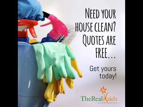 Need your house clean?  Quotes are FREE...