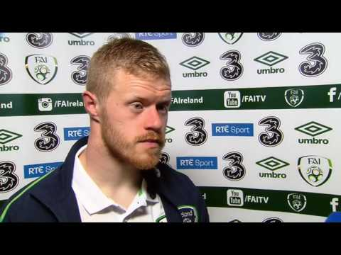 Republic of Ireland v Iceland - post-match interview - Daryl Horgan (28/3/17)
