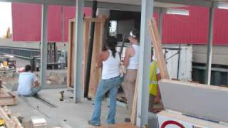 Learning Barge: Bathroom Build On June 25, 2009