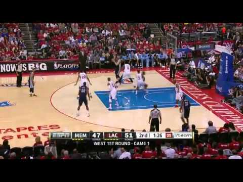 NBA Playoffs 2013: NBA Memphis Grizzlies Vs LA Clippers Highlights April 20, 2013 Game 1