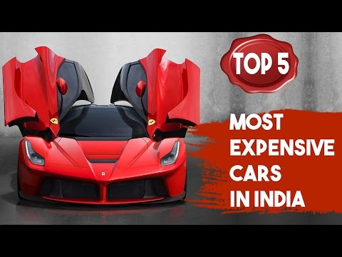 Top 5 - Most Expensive Cars in India | SIMBLY CHUMMA
