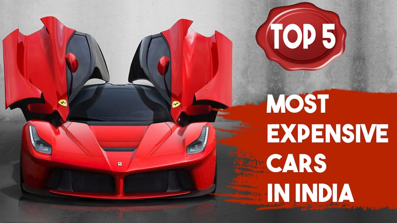 Top 5   Most Expensive Cars In India | SIMBLY CHUMMA