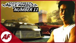 Need for Speed Most Wanted 2005 - Number 11 on a Blacklist Let