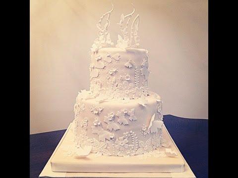 Студия Арт Кейк. Торт на свадьбу под заказ.