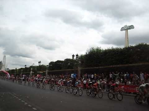 Tour du France - Finish on Tuileries Gardens