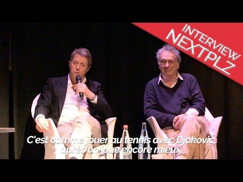 "Hugh Grant & Stephen Frears pour le film ""Foster Jenkins"""