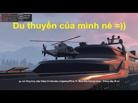 GTA 5 Online - Mình mua thêm du thuyền cho 500 anh em có chỗ vui chơi =))