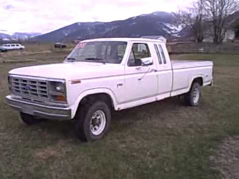 1985 Ford F150 4x4 Auto Excab For Sale Avi Youtube