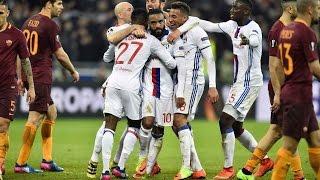Olympique lyonnais - AS Roma (4-2) - Résumé - (OL - ASR) / Ligue Europa 2016-17