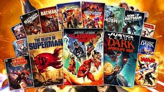 DC Animated Movie Universe Movies RANKED!