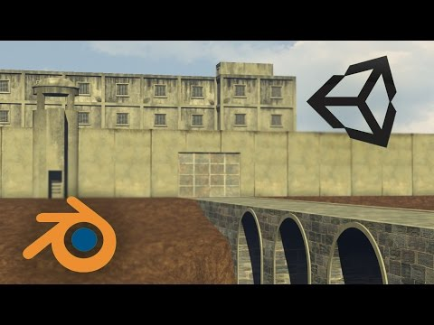 Free Prison (Free Download for Blender or Unity) no CC0 license