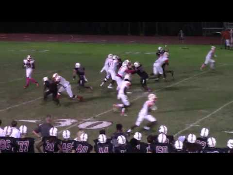 INSTANT REPLAY - 15 yd Loss - Eagles Nick Defroscia Runs Down QB For ANOTHER Big Loss! HSPN SPORTS