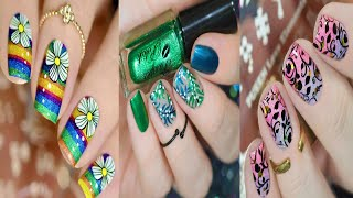 Top nail :New Trendy Art Design Ideas   The Best Nails Art Compilation   -  nail #70