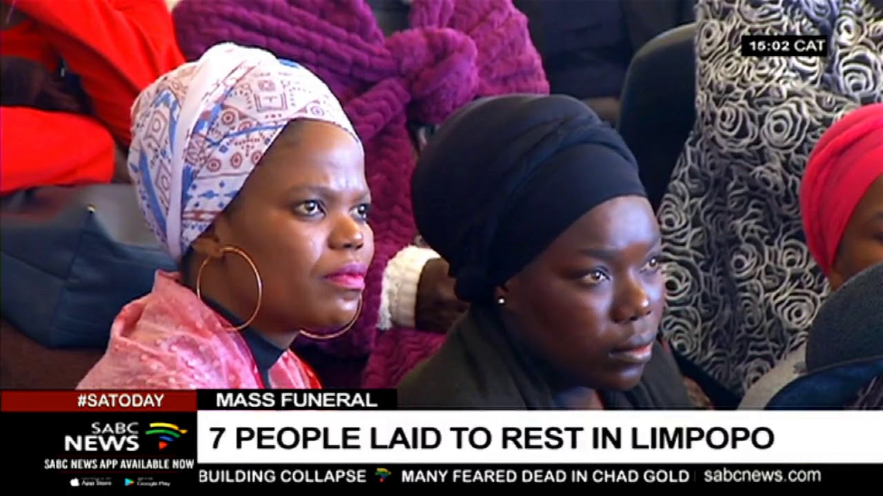 7 accident victims laid to rest in a mass funeral in Limpopo