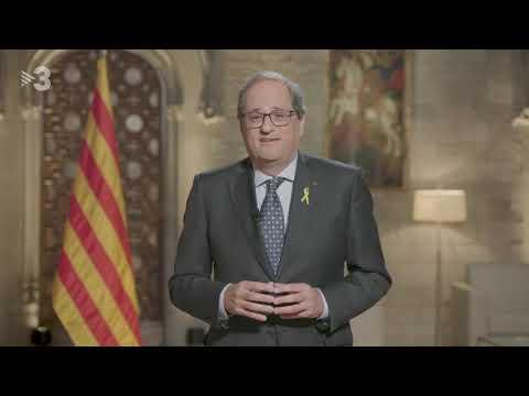 Missatge del president de la Generalitat