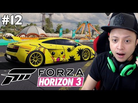 Download Gallardo Pikachu , Barn Find , RACE GOVLOK - Forza Horizon 3 Indonesia Gameplay #12 Images