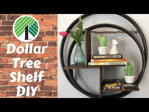 Dollar Tree Shelf DIY