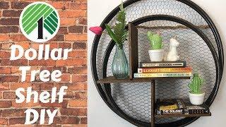 Dollar Tree Shelf DIY