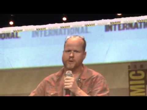 Joss Whedon Thanks Dark Horse At Comic Con #SDCC