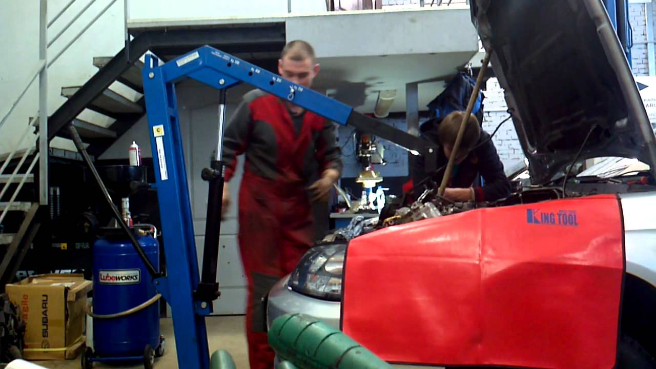 снятие фары, ремонт блока розжига Koito на Legacy