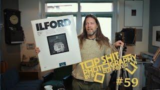 Test of film developers Rodinal, D-76, Pyrocat and FX-1 / Vlog #59