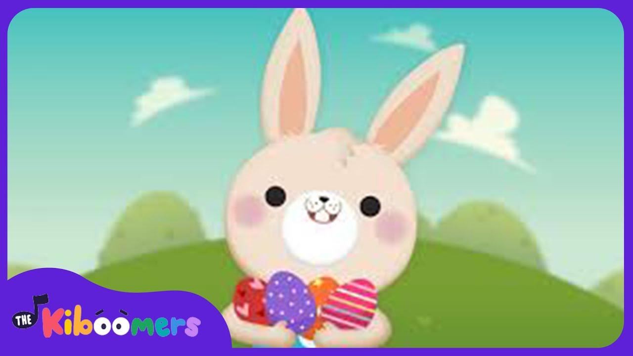 Hop Hop Little Bunny | Kids Song | The Kiboomers | Easter Songs | Easter Bunny | Children