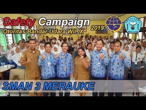 Kampanye Keselamatan Dan Keamanan Penerbangan SMAN 3 Merauke