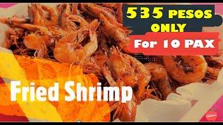 Fried Shrimp || Chelicious
