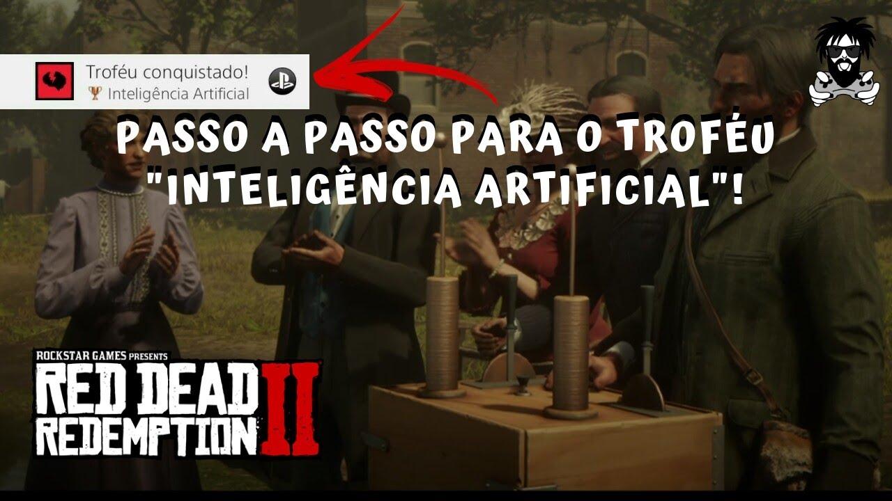 """Guia para o Troféu """"Inteligência Artificial"""" em Red Dead Redemption 2!"""